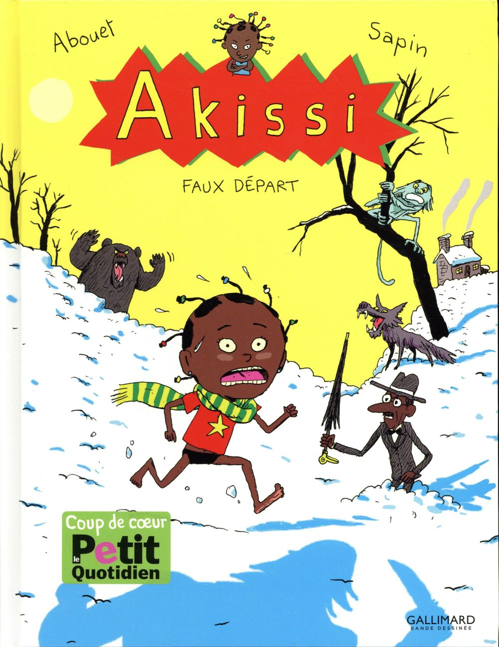 BANDES DESSINEES HORS COLLECTION - AKISSI, 7 : AKISSI - FAUX DEPART